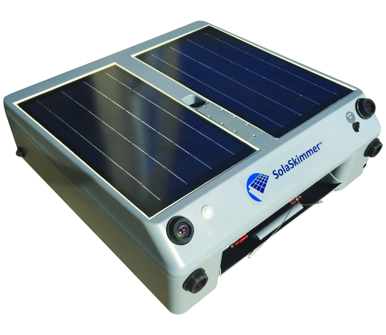 SolaSkimmer Solar-powered Swimming Pool Skimmer