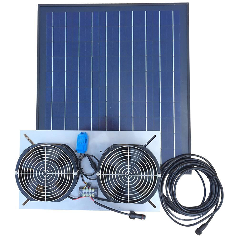 Solar Foundation And Crawl Space Ventilation Fan
