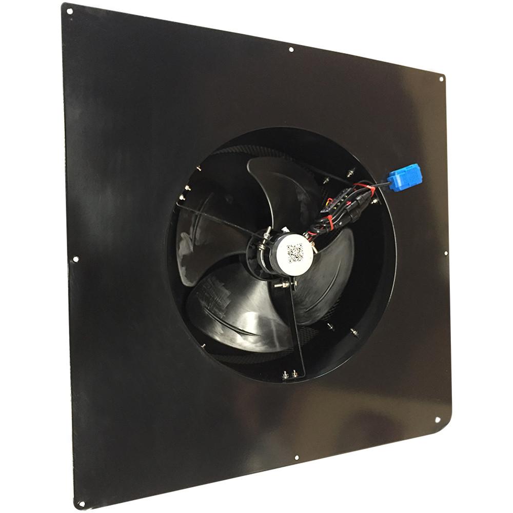 Scratch And Dent Remington Solar Attic Fan 20 Watt Black