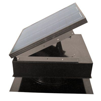 25 Watt Gray Remington Solar attic fan