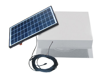 40 Watt Green House Solar Ventilation Fan